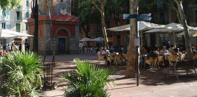 le quartier de Gracia barcelone