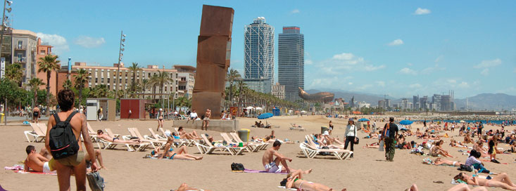 plages-barcelone
