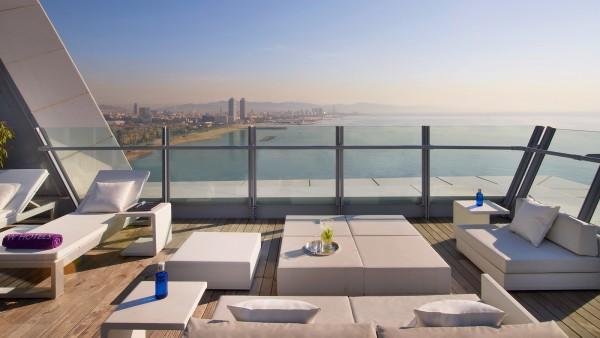 barcelona terrasse hotel w